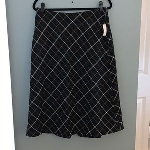 Talbots long wool skirt size 10